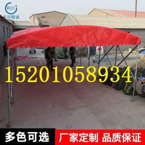 北京厂家定制烧烤推拉篷 移动餐饮帐篷 大排档移动推拉篷车棚