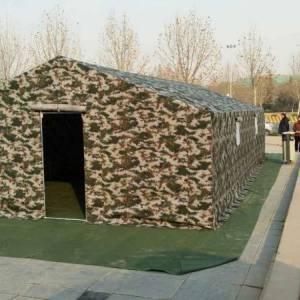 军用数码迷彩帐篷