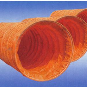 风管布、风筒布、风筒贴膜布,伸缩风管布